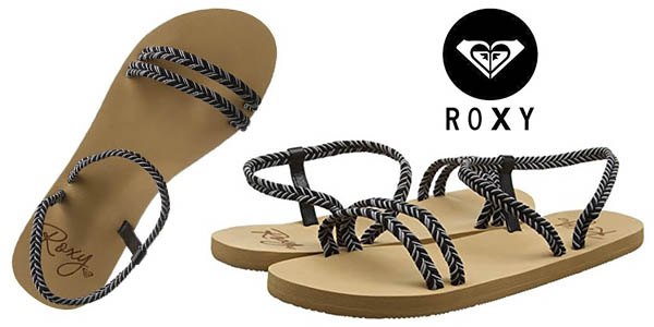 2522b859d Chollo Sandalias Roxy Luana tipo flip-flop de diseño original para ...