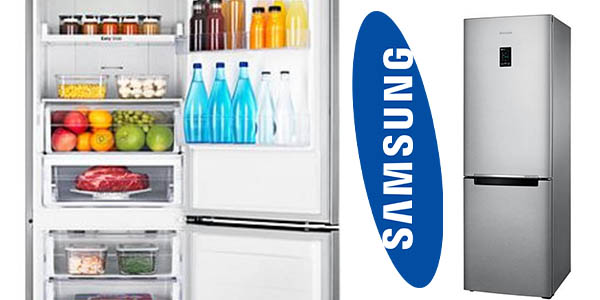 Samsung RB31HER2CSA combi clase AA No frost con cupón descuento eBay agosto 2017