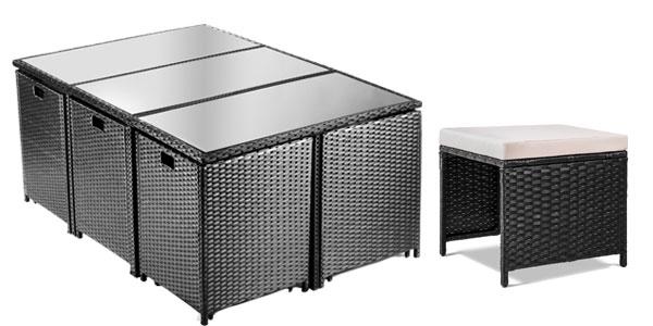 Chollo brutal conjunto de 11 piezas de muebles de jard n - Outlet jardin ...