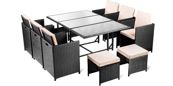 CHOLLO BRUTAL: Conjunto de 11 piezas de muebles de jardín tipo ...