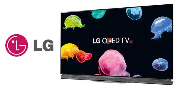 Ssmart TV 55'' LG OLED55E6V UHD 4K 3D Dolby Vision rebajada
