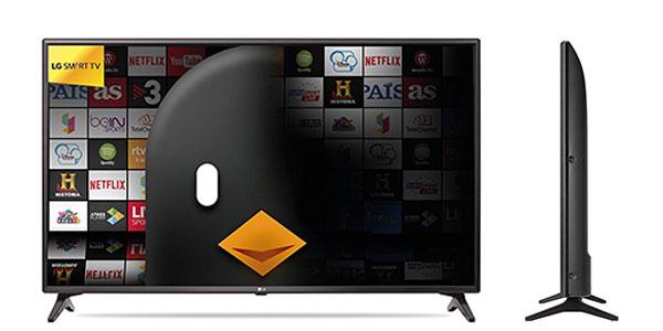 Smart TV LG 49LJ614V de 49 pulgadas LED al mejor precio en Amazon
