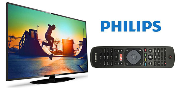Smart TV Philips 43PUS6162 Ultra HD 4K HDR Plus rebajada