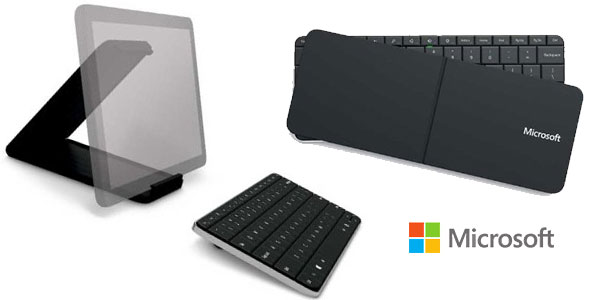 Teclado portátil Microsoft Wedge barato en Amazon