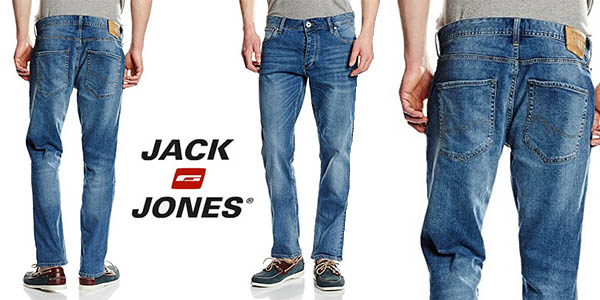 vaqueros Jack Jones 12104001 anchos oferta