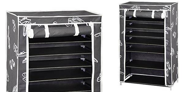 Funcional zapatero kit closet de 7 baldas y paredes en for Zapatero gran capacidad