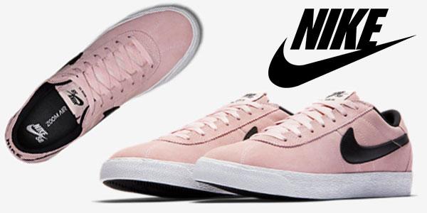 hot sales 65bd5 29463 Zapatillas Nike SB Zoom Bruin Premium SE de color rosa