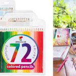 Set de 72 lápices de colores Zenacolor chollo en Amazon