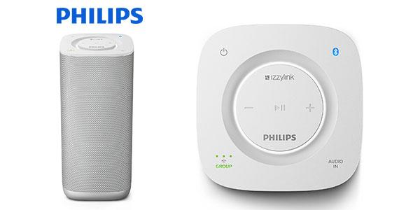 Altavoz Philips BM6W/10 portátil multiroom bluetooth rebajado