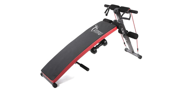 Banco de musculación y abdominales Fitfiu Fitness chollo en eBay