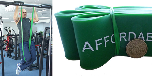 Bandas de resistencia para crossfit y ejercicio Affordable Fitness Equipment baratas