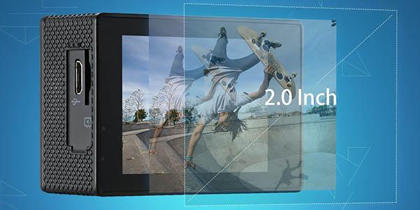 Cámara deportiva VicTsing EyproS 1080P con carcasa estanca