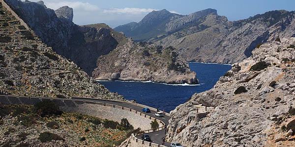 Carretera Cap Formentor Mallorca