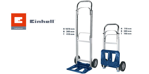 Carretilla plegable Einhell BT-HT 90 chollo en Amazon