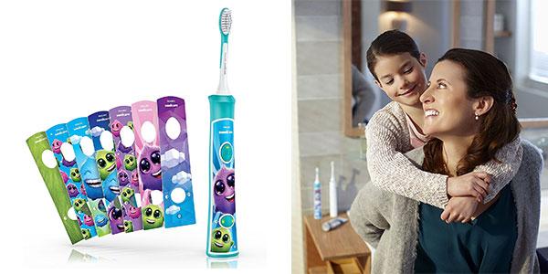 Cepillo de dientes Philips Sonicare HX632204 para niños al mejor precio