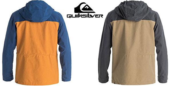Chaqueta Quiksilver Clover Daze con capucha para hombre rebajada