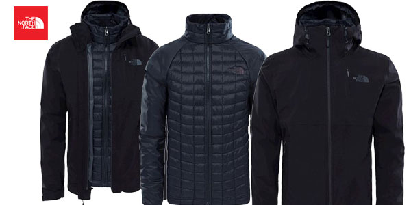 Chaqueta para hombre The North Face Triclimate chollo en Amazon