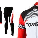 Equipación de ciclismo Tomshoo reforzada barata en Amazon