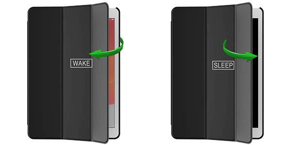 Smart Case JETech para iPad (2019) en Amazon