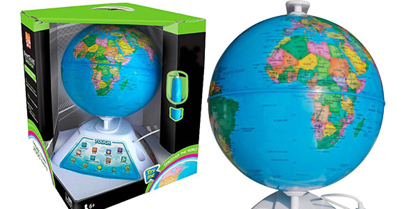 Chollo globo terr queo interactivo oregon scientific smart globe discovery sg268 por s lo 57 84 - Globo terraqueo amazon ...