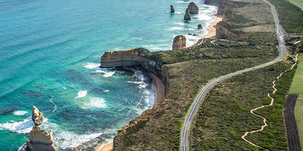 Great Ocean Road carretera en Australia Doce Apóstoles