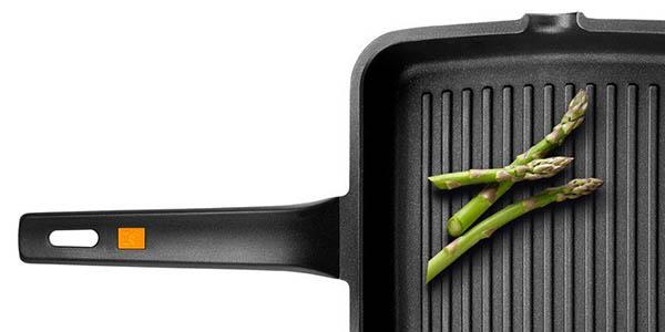 grill sartén Bra Efficient para inducción con asa desmontable