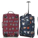 Juego de 2 maletas estampadas 5Cities tamaño cabina chollo en Amazon