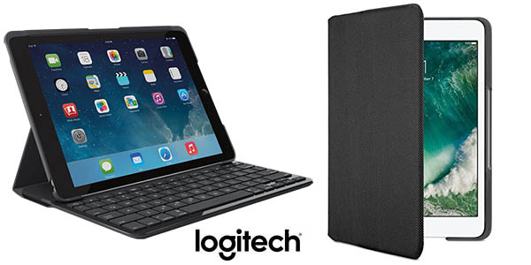 Funda con teclado Logitech Canvas para iPad Air 2