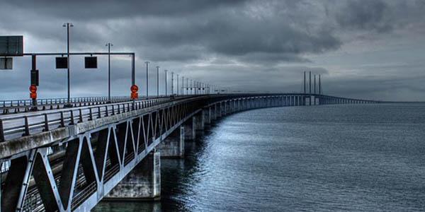 Puente Oresund Dinamarca-Suecia