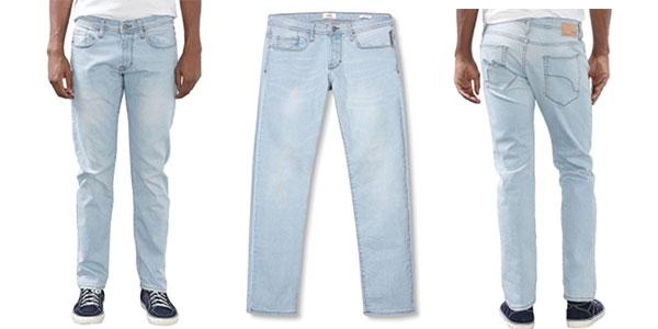 Pantalones vaqueros edc by ESPRIT blue bleached baratos