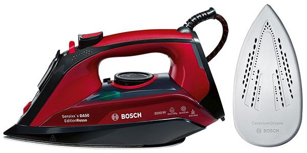 Plancha de vapor Bosch TDA503001P de 3000 W con suela Ceranium barata
