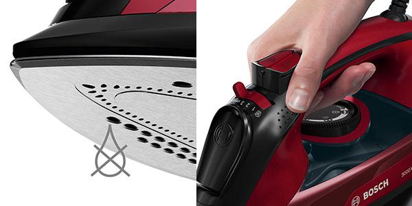 Plancha de vapor Bosch TDA503001P Edition Rosso rebajada