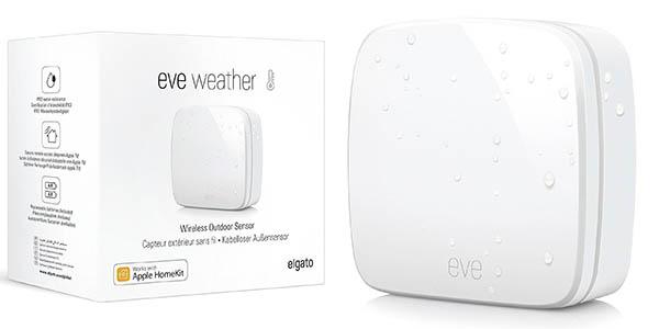Sensor meteorológico Elgato Eve Weather inalámbrico