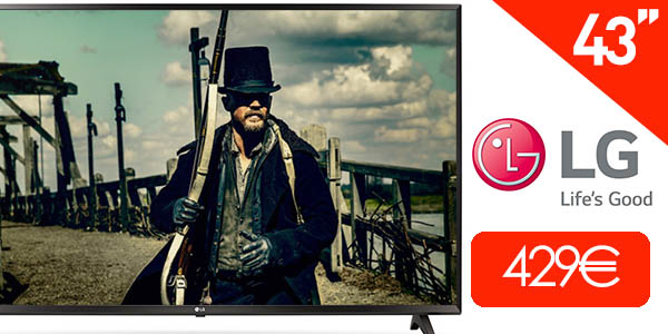 Smart TV LG 43UJ630V UHD 4K