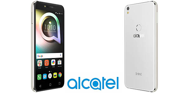Alcatel Shine Lite 5080X en color oro o blanco