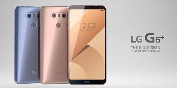 Smartphone LG G6+ barato