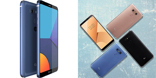 LG G6+ en varios colores