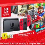 Pack Switch + Mario Odyssey barato
