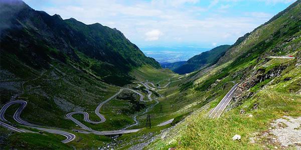 Transfagarasan Rumanía carretera emocionante para conducir