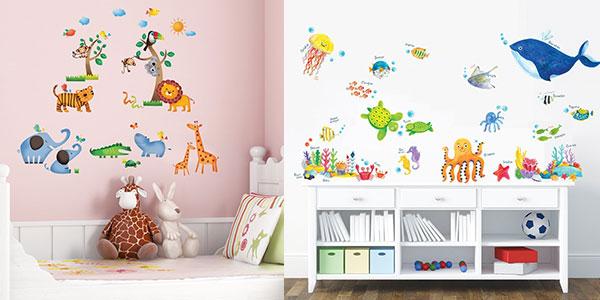 Chollo vinilos decorativos infantiles decowall removibles y ecol gicos por s lo 13 95 grandes - Vinilos infantiles grandes ...
