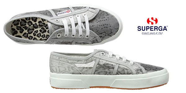 Zapatillas Superga 2850 para mujer con estampado animal print baratas en Amazon
