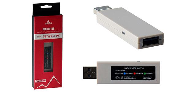 Adaptador Magic-NS para mandos de consola en Nintendo Switch y PC barato