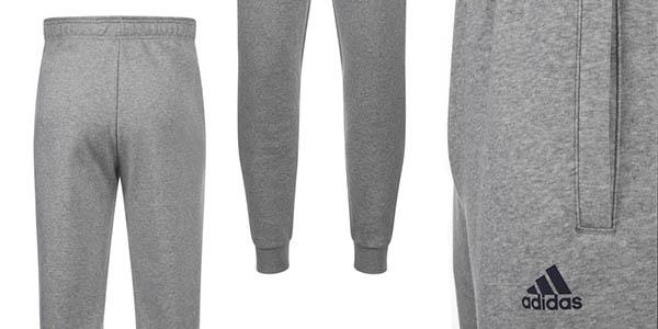 Adidas Essentials pantalón de chándal de algodón afelpado cómodo y tejido  suave 43bbe7a56a6