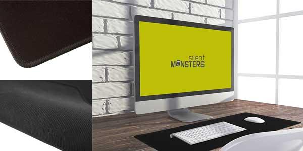 Alfombrilla gaming y para oficina Silent Monsters tamaño XXL chollazo en Amazon
