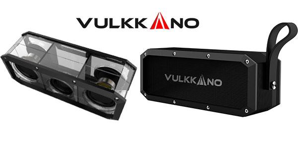 Altavoz Vulkkano Blast de 30W de color negro resistente al agua al mejor precio