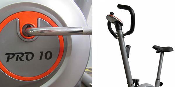 bicicleta estática sencilla con sillín acolchado