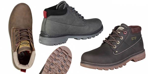botas de senderismo cómodas para hombre Carrera Jeans chollo