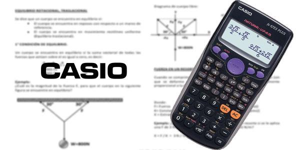 Calculadora científica Casio FX-82ES Plus con 252 funciones barata