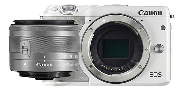 Cámara Canon EOS M3 objetivo EF-S 15-45 STM