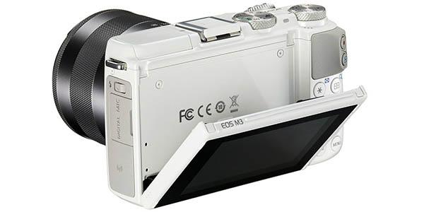 Canon EOS M3 en color blanco